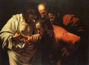 The Incredulity of Thomas—Caravaggio