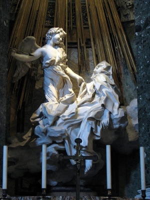 St. Theresa of Avila: proof that celibacy need not involve the death of eros
